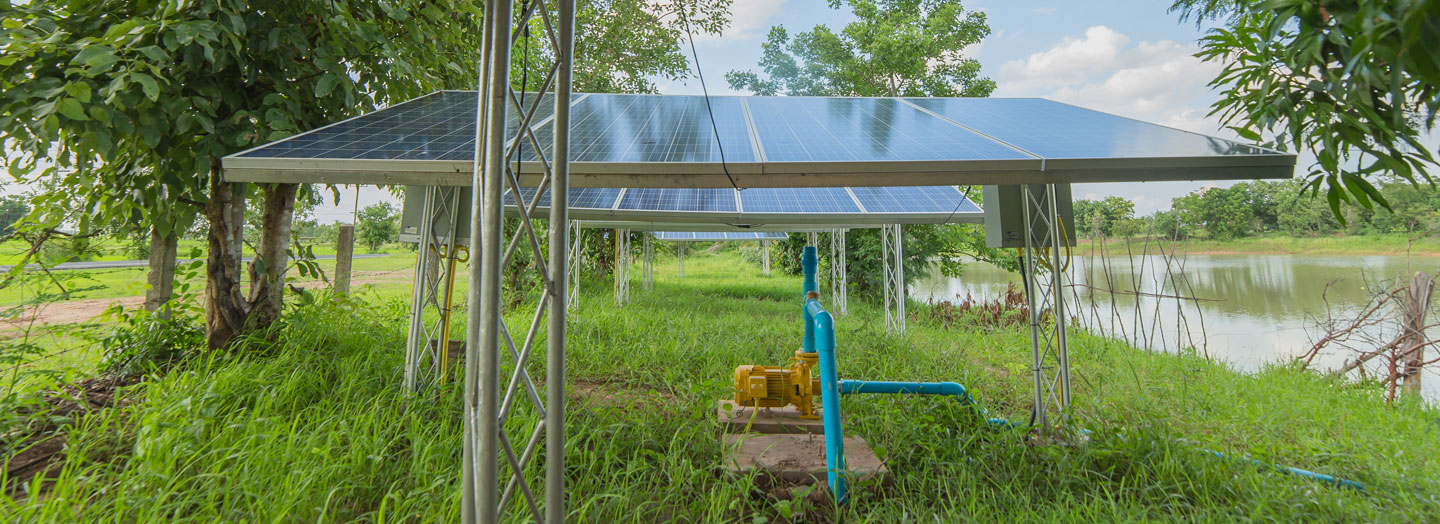 Scaling Solar Application for Agricultural Use